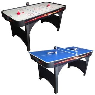 """Voit Playmaker 60"""" Air Hockey Table With Table Tennis