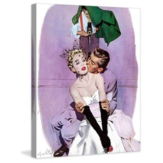 "Marmont Hill - ""Love Scene"" by Coby Whitmore Painting Print on Canvas"