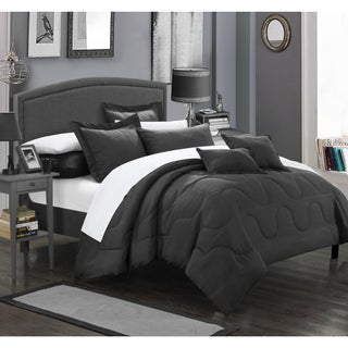 Chic Home Direllei Black Down Alternative 11-piece Bed in a Bag Set (2 options available)