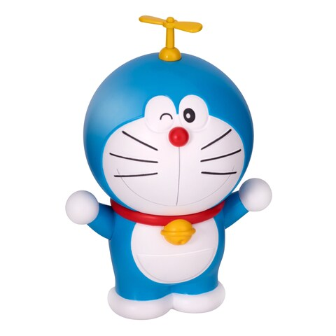 Bandai 4 Inch Doraemon Figure Posed with Hopter - 4 Inch
