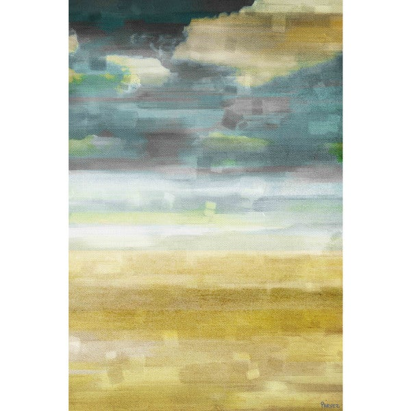 "Parvez Taj - ""Sandy Vision"" Print on Canvas"