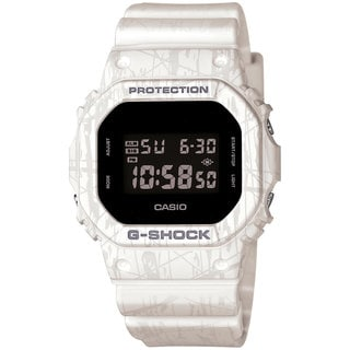 Casio Men's DW5600SL-7 G-Shock White Watch