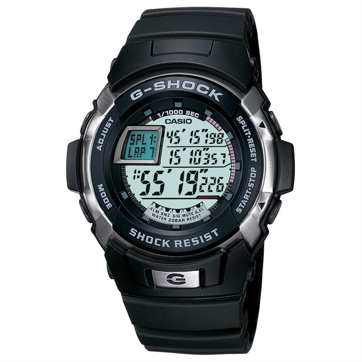 Casio Men's G7700-1 G-Shock Black Watch (Black), Pink, Si...