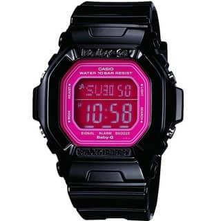 Casio Women's BG5601-1 Baby-G Pink Watch (Option: Pink) https://ak1.ostkcdn.com/images/products/10489458/P17577129.jpg?impolicy=medium