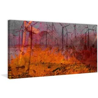 """Parvez Taj - """"Coachella Valley"""" Print on Canvas"""