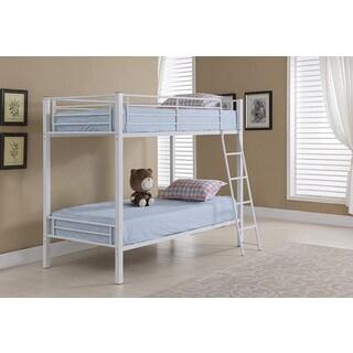 K & B Twin Metal Bunk Bed