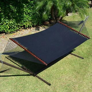 Jumbo Caribbean Hammock 55-inch, Soft-spun Polyester