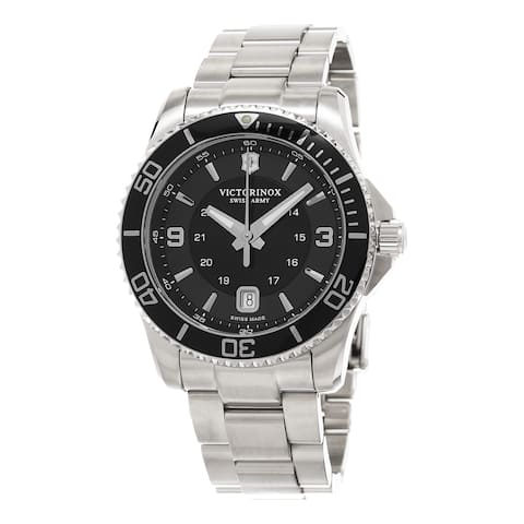 Victorinox Swiss Army Men's 241697 'Maverick' Stainless Steel Watch