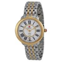 Michele Women's MWW21B000015 'Serein 16' Diamond Two-Tone Stainless Steel Watch