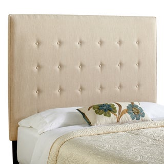 Humble + Haute Brighton Tall Queen Size Light Sage Green Upholstered Headboard