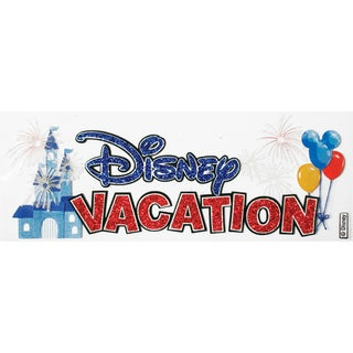 Disney Title Dimensional StickersDisney Vacation