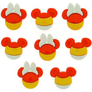 Dress It Up Licensed EmbellishmentsDisney Mickey & Minnie Candy Corn