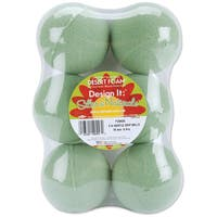 Dry Foam Balls 3in 6/PkgGreen