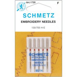 Embroidery Machine NeedlesSize 14/90 5/Pkg