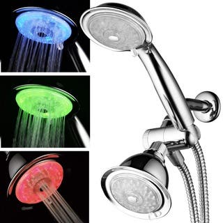 Luminex Air-Turbo 7-color LED 24-Setting Shower Combo|https://ak1.ostkcdn.com/images/products/10489886/P17577361.jpg?impolicy=medium