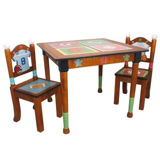 Fantasy Fields Lil' Sports Fan 3-piece Kid's Table Set