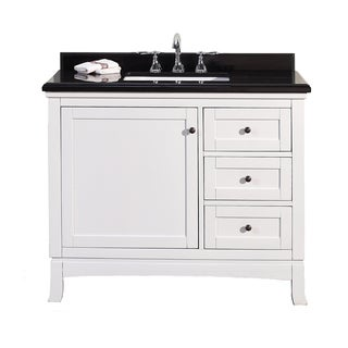 ove decors sophia 42inch single sink bathroom vanity with granite top