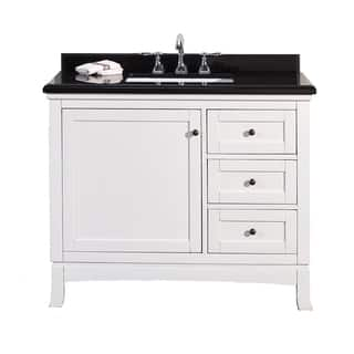 OVE Decors Sophia 42-inch Single Sink Bathroom Vanity with Granite Top