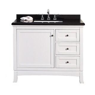 OVE Decors Sophia 42 Inch Single Sink Bathroom Vanity With Granite Top
