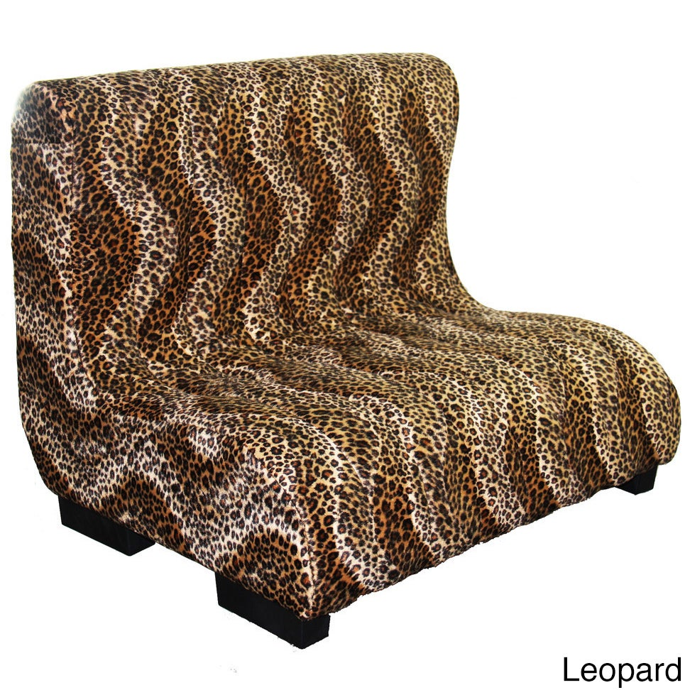 ORE International Plush Tufted Upholstery Pet Furniture (...