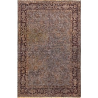 ABC Accent Brown Overdyed Wool Rug (6' x 9')