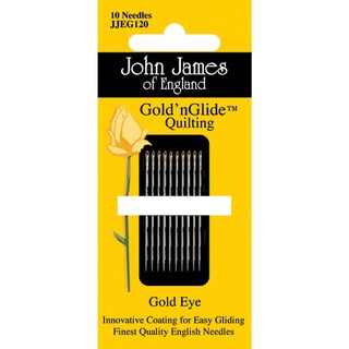 Gold'n Glide Quilting Needles Size 11 10/Pkg