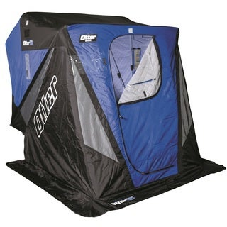 Frabill Citadel 3405 Flip Over Shelter With Bench Seats
