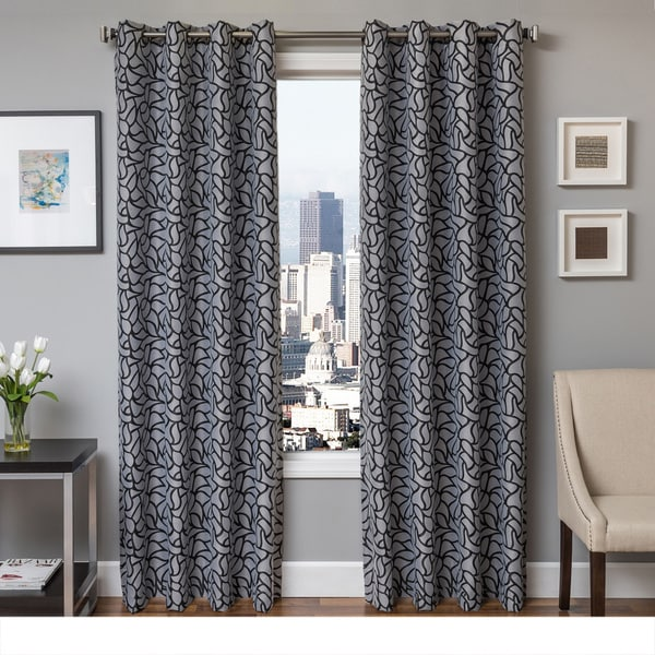 Softline Barrie Grommet Top Curtain Panel