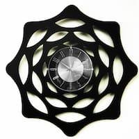 Mid Century Modern Lacy Web 20-inch Clock