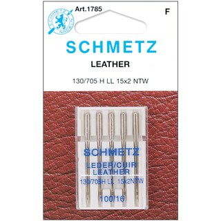 Leather Machine NeedlesSize 16/100 5/Pkg