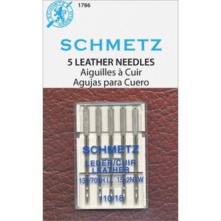 Leather Machine NeedlesSize 18/110 5/Pkg