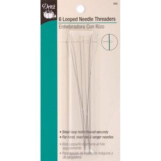 Looped Needle Threaders6/Pkg