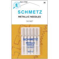 Metallic Machine NeedlesSize 12/80 5/Pkg