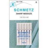 Microtex Sharp Machine NeedlesSize 10/70 5/Pkg