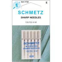 Microtex Sharp Machine NeedlesSize 8/60 5/Pkg