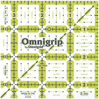 Omnigrip NonSlip Quilter's Ruler31/2inX31/2in