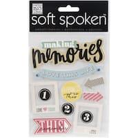 Soft Spoken Themed EmbellishmentsLove This Life
