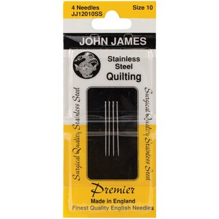Stainless Steel Quilting NeedlesSize 10 4/Pkg