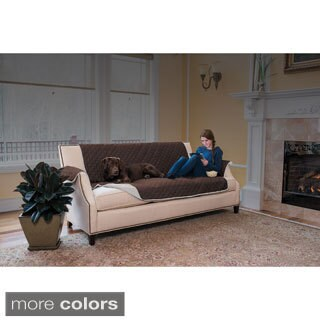 Home Fashion Designs Hawthorne Collection Ultra Plush Reversible Sofa Protector
