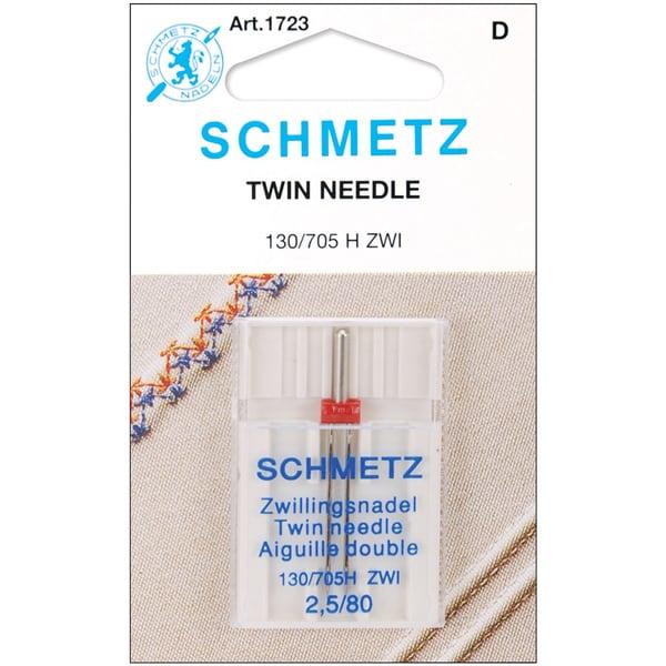 Twin Machine NeedleSize 2.5/80 1/Pkg