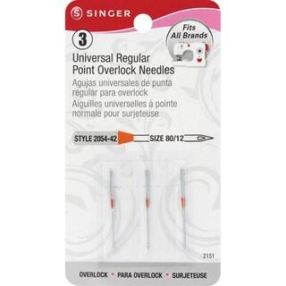 Universal Regular Point Overlock Machine NeedlesSize 12/80 3/Pkg