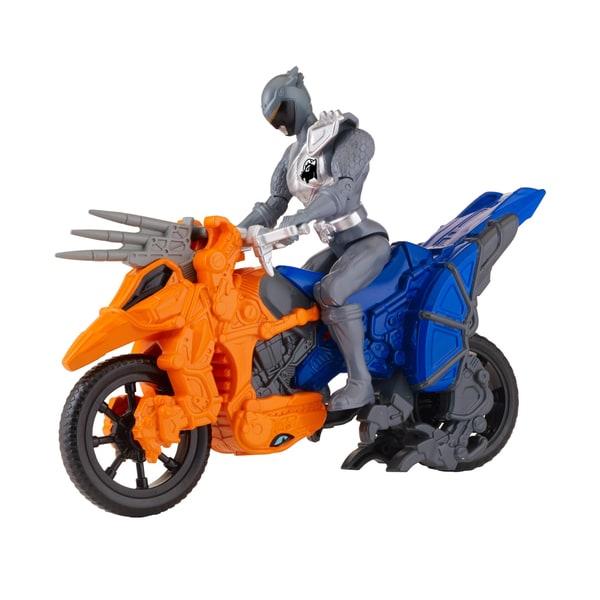 Bandai Power Rangers Dino Cycle with Graphite Ranger