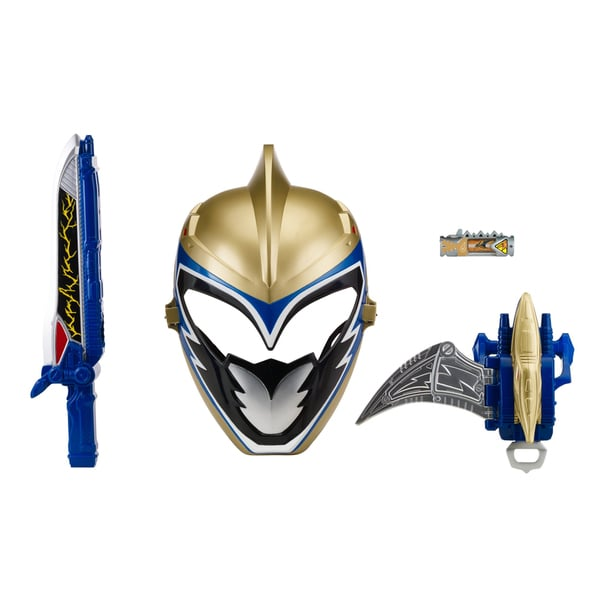 Shop Bandai Power Rangers Gold Ranger Hero Set Dino Charge