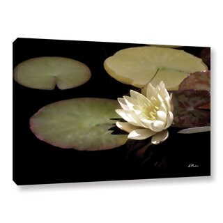 ArtWall Linda Parker 'Water Lily I' Gallery-wrapped Canvas