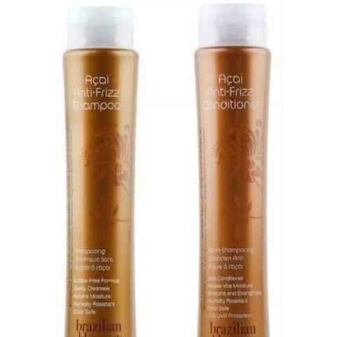 Brazilian Blowout Anti-Frizz 12-ounce Shampoo & Conditioner