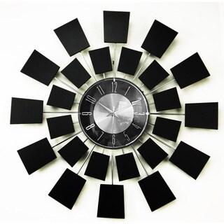 Mid-century Modern Wooden Wall Clock