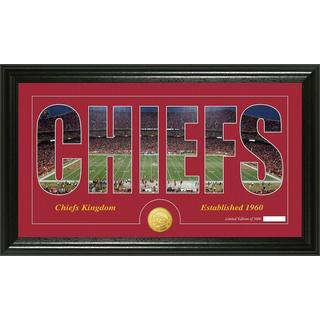 Kansas City Chiefs 'Silhouette' Bronze Coin Panoramic Photo Mint