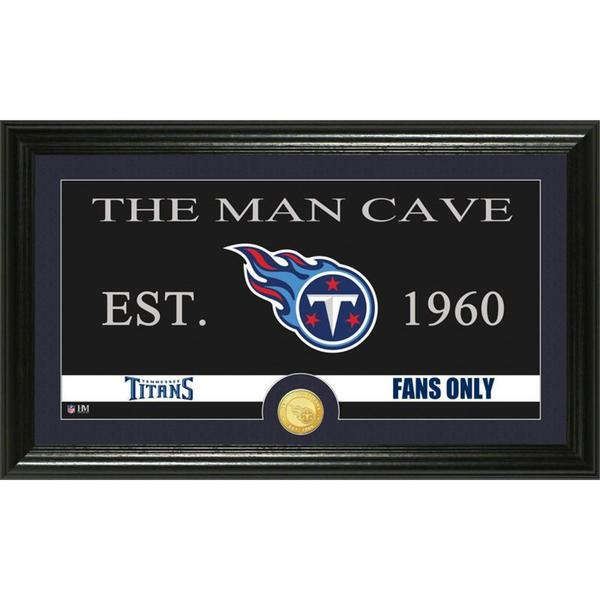 Tennessee Titans 'Man Cave' Bronze Coin Panoramic Photo Mint
