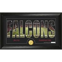Atlanta Falcons 'Silhouette' Bronze Coin Panoramic Photo Mint