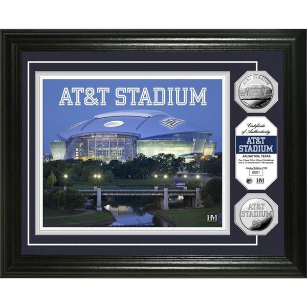 AT&T Stadium Silver Coin Photo Mint